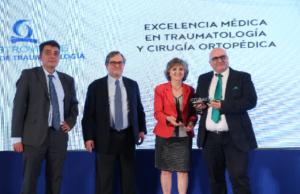 Imagen de los premios a la excelencia médica